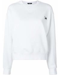 Sudadera blanca de Calvin Klein
