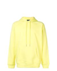 Sudadera con capucha amarilla de Diesel