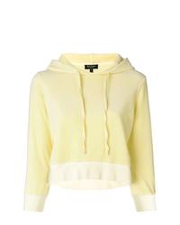 Sudadera con capucha amarilla de Juicy Couture