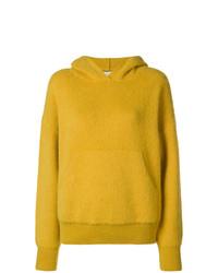 Sudadera con capucha amarilla de Laneus