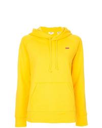 Sudadera con capucha amarilla de Levi's