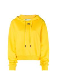 Sudadera con capucha amarilla de Off-White