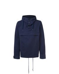 Sudadera con capucha azul marino de 321