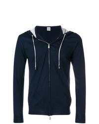 Sudadera con capucha azul marino de Eleventy