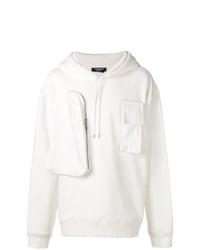 Sudadera con capucha blanca de Calvin Klein 205W39nyc