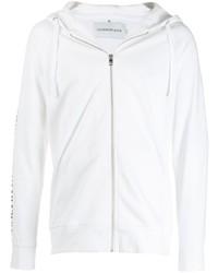 Sudadera con capucha blanca de Calvin Klein Jeans