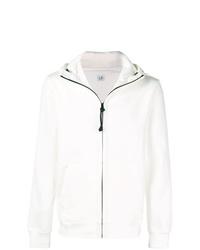 Sudadera con capucha blanca de CP Company