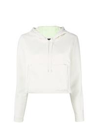 Sudadera con capucha blanca de Nike