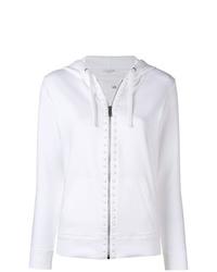 Sudadera con capucha blanca de Valentino