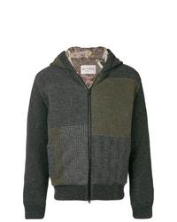 Sudadera con capucha en gris oscuro de Etro