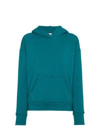 Sudadera con capucha en verde azulado de Simon Miller