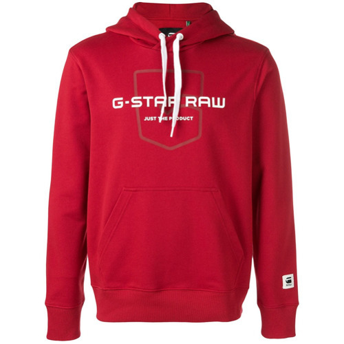 varios diseños recogido belleza MEX$2,233, Sudadera con capucha estampada en rojo y blanco de G-Star Raw  Research