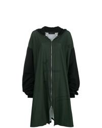 Sudadera con capucha estampada verde oscuro de Barbara Bologna