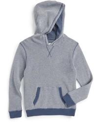 Sudadera con capucha gris