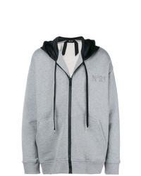 Sudadera con capucha gris de N°21