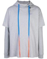 Sudadera con capucha gris de Off-White