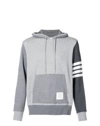 Sudadera con capucha gris de Thom Browne