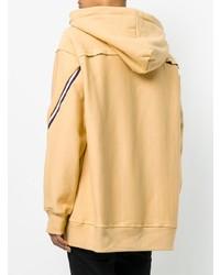 Sudadera con capucha marrón claro de Facetasm
