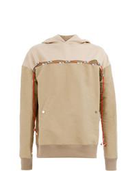 Sudadera con capucha marrón claro de Youser