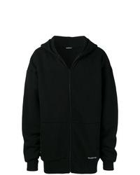 Sudadera con capucha negra de Balenciaga
