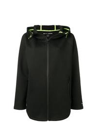 Sudadera con capucha negra de DKNY