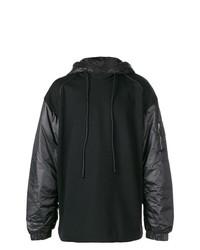 Sudadera con capucha negra de Juun.J