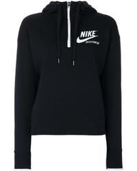Sudadera con capucha negra de Nike