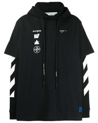 Sudadera con capucha negra de Off-White