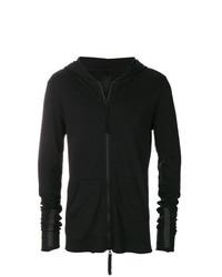 Sudadera con capucha negra de Thom Krom