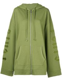 Sudadera con capucha verde oliva de Puma