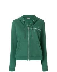 Sudadera con capucha verde de Calvin Klein Jeans