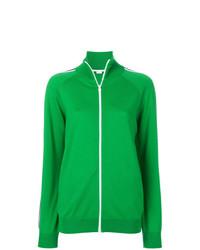 Sudadera con capucha verde de Stella McCartney