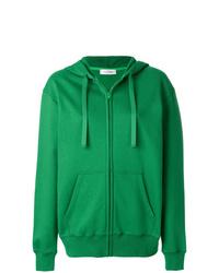 Sudadera con capucha verde de Valentino
