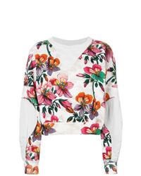 Sudadera con print de flores blanca de Isabel Marant