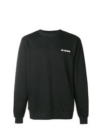 Sudadera estampada en negro y blanco de Han Kjobenhavn