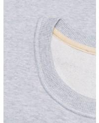 Sudadera estampada gris de Kenzo