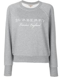 Sudadera gris de Burberry