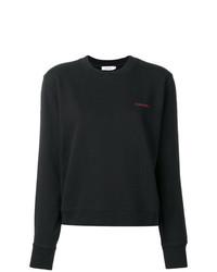 Sudadera negra de Calvin Klein