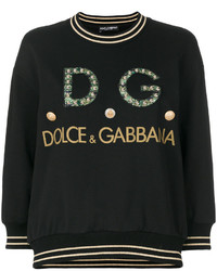 Sudadera negra de Dolce & Gabbana