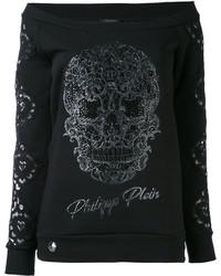 Sudadera negra de Philipp Plein