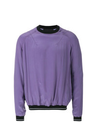 Sudadera violeta claro de Haider Ackermann