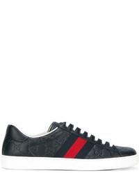 305021e93c Comprar unas zapatillas azul marino Gucci | Moda para Hombres ...