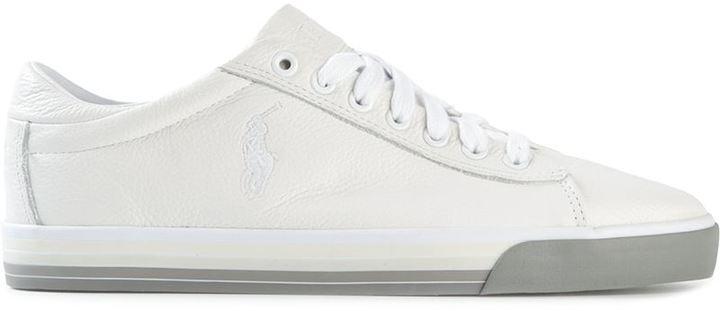 011725f9e1d Tenis blancos de Polo Ralph Lauren  dónde comprar y cómo combinar