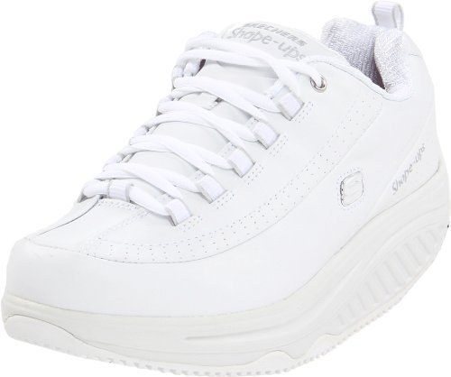 Tenis blancos de Skechers for Work