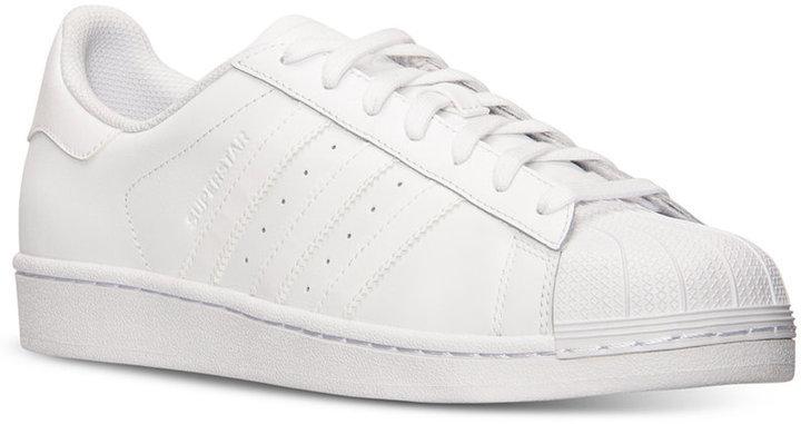 tenis adidas superstar blancas