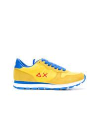 Tenis de ante amarillos