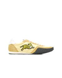Tenis de ante amarillos de Kenzo