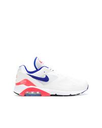 Tenis de ante blancos de Nike