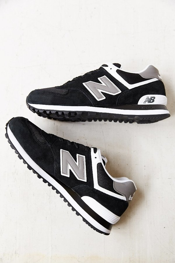 new balance 574 negra y blanca