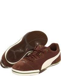 Tenis de ante marrónes